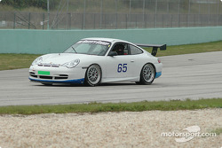 #65 The Racers Group Porsche GT3 Cup: Andy Lally, Marc Bunting, Kevin Buckler