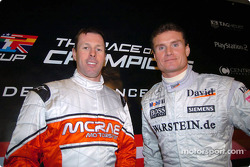 Colin McRae und David Coulthard