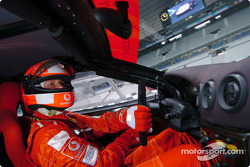 On board in the Ferrari 360 Modena Challenge with Michael Schumacher