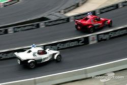 Heikki Kovalainen and Marcus Gronholm