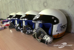 Helmets for co-drivers