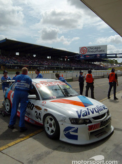 Garth Tander's car worked in the warm up