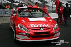 Peugeot 307 WRC on display