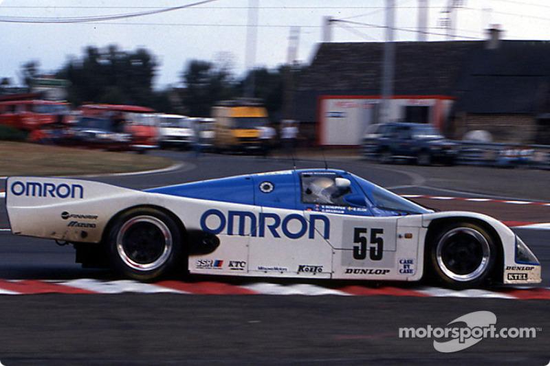 #55 Team Schuppan Porsche 962C: Vern Schuppan, Eje Elgh, Gary Brabham