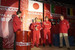 Nissan Dessoude team presentation: on stage with the Nissan Dessoude drivers