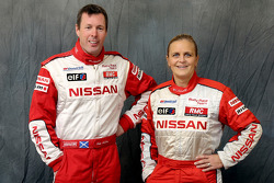 Nissan Rally Raid Team presentation: Colin McRae and Tina Thorner