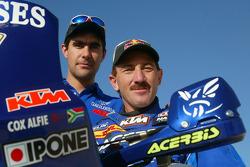 KTM team presentation: Gauloises KTM rider Alfie Cox