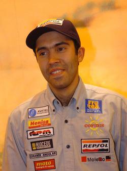 Toyota Challenge team presentation: co-driver Benedi Rui Rodrigues