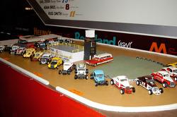 Reading Fair track, in miniature