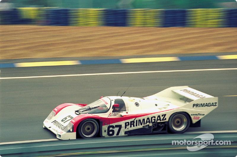 #67 Obermaier Porsche 962C: Otto Altenbach, Jürgen Lässig, Pierre Yver