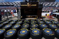 Dale Jarrett tire supply