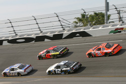 Mike Skinner, Jamie McMurray, Ryan Newman, Casey Mears and Jeff Burton