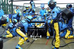 Renault pit stop