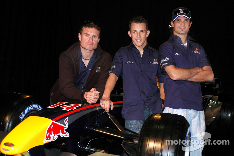 Red Bull Racing: David Coulthard, Christian Klien y Vitantonio Liuzzi