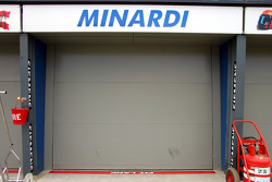 Minardi garage