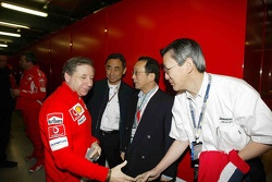 Jean Todt with guests