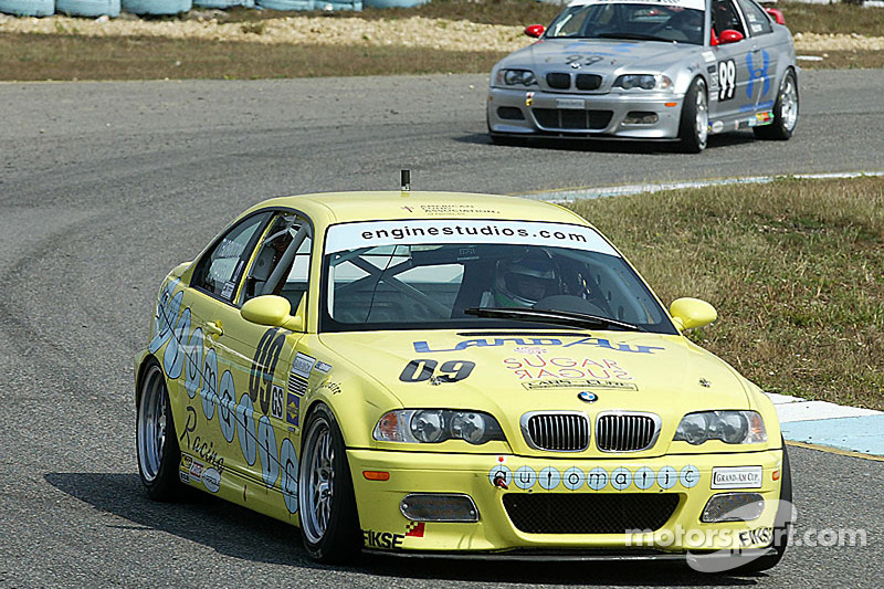 #09 Automatic Racing BMW M3: Jep Thornton, David Russell, David Riddle