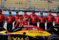 Bryan Herta and Team