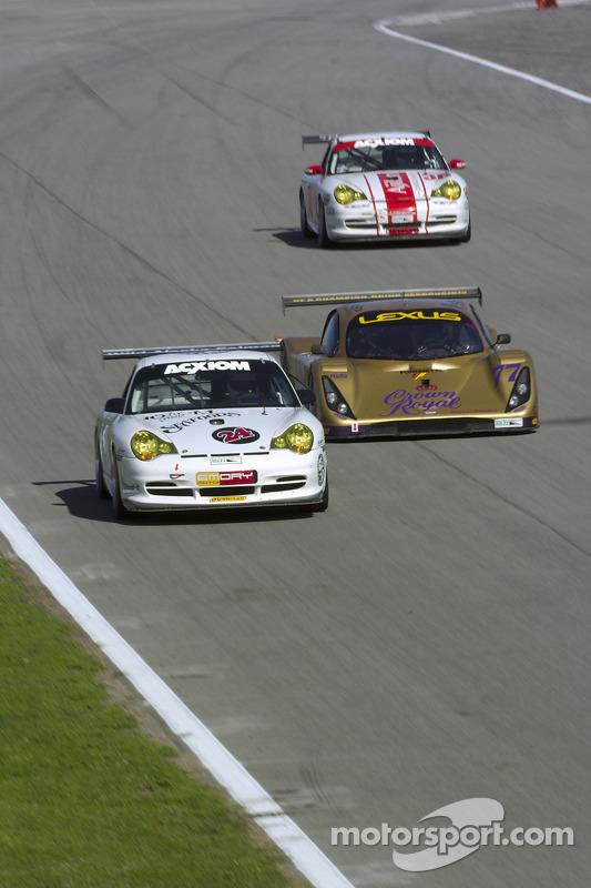 Emory Motorsports/ BGB Porsche GT3 Cup : Rod Emory, Chris Ridgway; Doran Racing Lexus Doran : Fabrizio Gollin, Matteo Bobbi