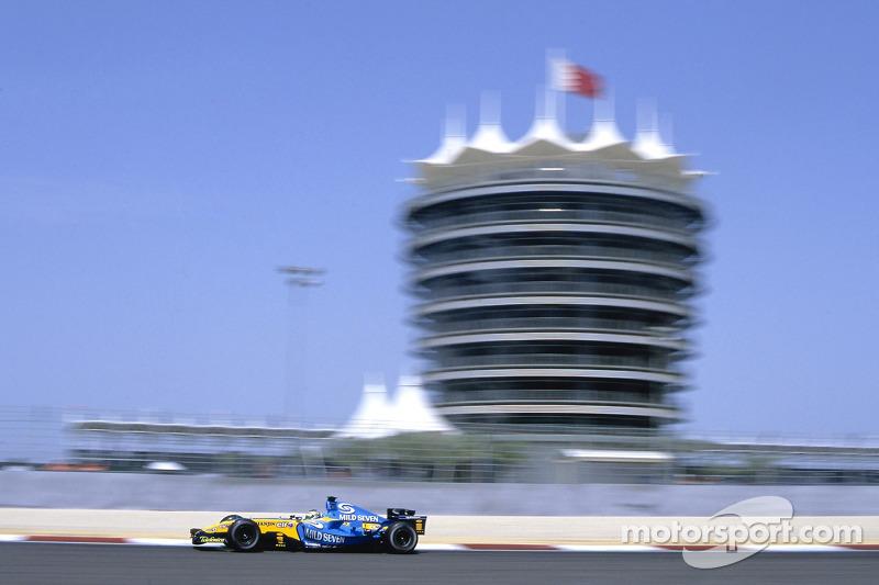 +41,9°С– при такой температуре прошелГран При Бахрейна в 2005 году. Этосамая жаркая гонка в историиФ1