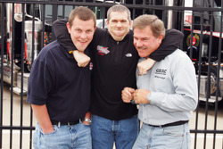 Justin Labonte, Bobby Labonte and Terry Labonte