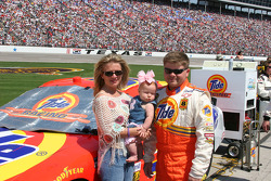 Bobby Hamilton Jr. and family