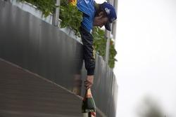 Podio: el ganador del GP de San Marino 2005, Fernando Alonso