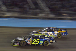 Brian Vickers and Michael Waltrip