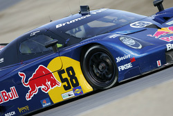 #58 Red Bull/ Brumos Racing Porsche Fabcar: David Donohue, Darren Law