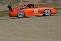 #61 TRG East/ Doncaster Racing Porsche GT3 Cup: Dave Lacey, Greg Wilkins