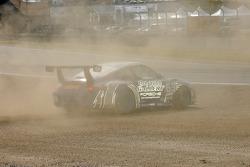 #63 Auto Gallery/ TRG Porsche GT3 Cup: Dave Master, Dan Pastorini off track