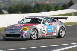 #179 RJN Motorsport Nissan 350Z: Michael Bentwood, Ally McKever, Brice Wilson