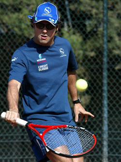 F1 Tennis Charity for the Northampton Intensive Care Unit at the Sanchez-Casal Open Tennis Academy: Felipe Massa