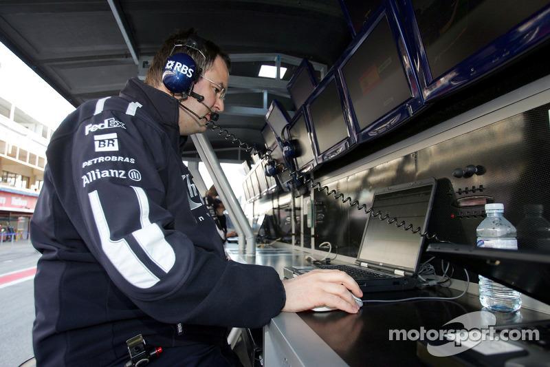 A Williams-BMW engineer