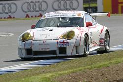 #84 Sebah Automotive Porsche 996 GT3 RSR: Lars Erik Nielsen, Pierre Ehret