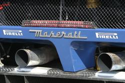 Detail of the Vitaphone Racing Team Maserati MC 12 GT1