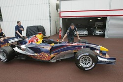 Livrea Star Wars sulla Red Bull Racing