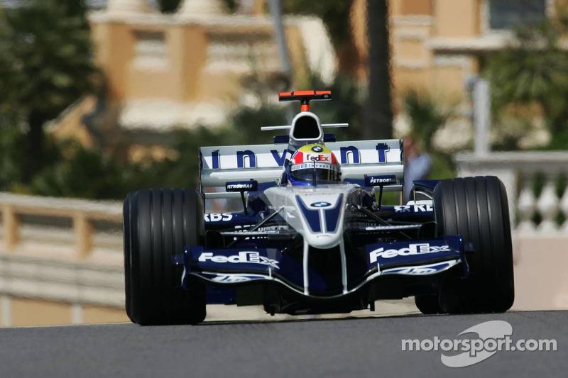 Monte Carlo 2005: 1. Podestplatz in der Formel 1