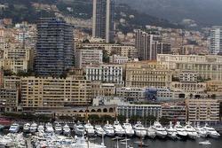 The Monaco circuit prior to the practice session