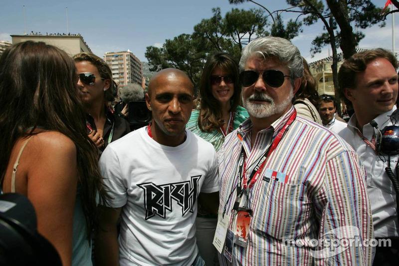 Roberto Carlos y George Lucas