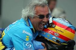Фернандо Алонсо и Флавио Бриаторе, Renault