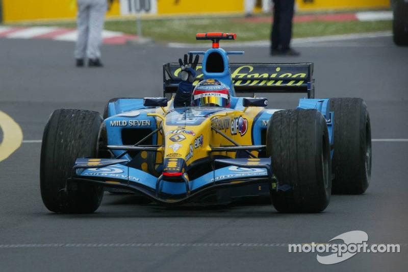 2005. Нюрбургрінг. Переможець: Фернандо Алонсо, Renault