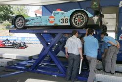 Paul Belmondo Racing Courage Ford at scrutineering