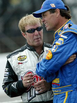 Sterling Marlin and Michael Waltrip