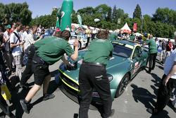 Aston Martin Racing Aston Martin DBR9 at scrutineering