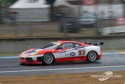 #93 Scuderia Ecosse Ferrari 360 Modena: Nathan Kinch, Andrew Kirkaldy, Anthony Reid