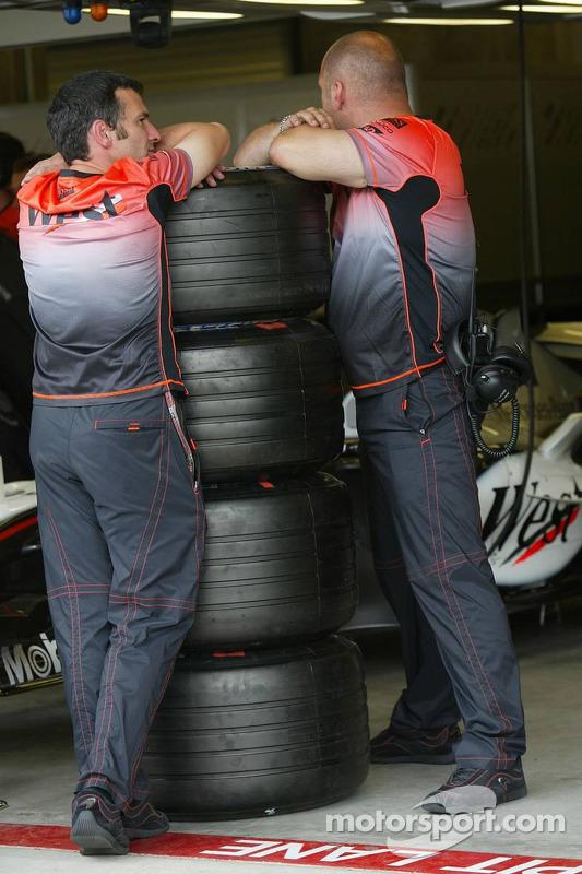 Miembros del equipo McLaren