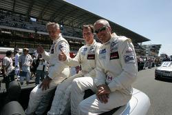 Horst Felbermayr, Philip Collin and David Shep