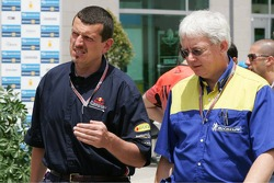 Guenther Steiner and Nick Shorrock