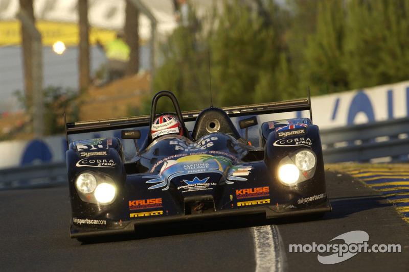 Kruse Motorsport Courage Judd : Phil Bennett, Ian Mitchell, Tim Mullen